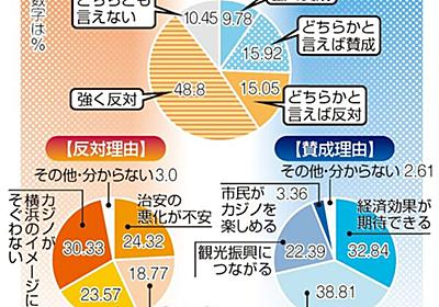 誘致6割超が反対「カジノ、そぐわない」 横浜で市民調査   政治行政   カナロコ by 神奈川新聞