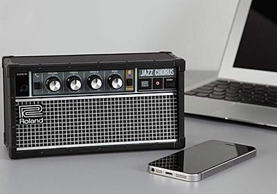 ローランドのロングセラー・ギターアンプ「ジャズ・コーラス」が卓上型Bluetoothスピーカーに! 「JC-01」登場 | BARKS