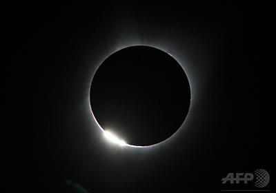 皆既日食が米国横断 世紀の天文ショーに市民興奮 写真24枚 国際ニュース:AFPBB News