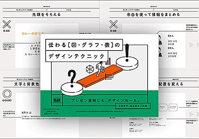 情報をデザインするこつがよく分かる!デザインの手順がこんなにも詳しく解説された本は初めて -伝わる[図・グラフ・表]のデザインテクニック | コリス