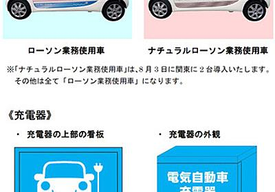 開発が進む電気自動車とその充電施設: 自然エネルギー