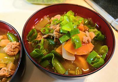 【1食48円】魯肉飯で作るなめこ入り豚汁の簡単レシピ - 50kgダイエットした港区芝浦IT社長ブログ