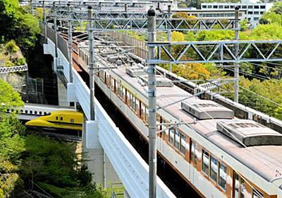 ドクターイエロー×N700系新幹線×地下鉄 「三つどもえ」の奇跡|神戸|神戸新聞NEXT