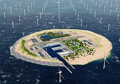 北海に送電の島構想 周辺6カ国で電力安定化 (グローバルViews) :日本経済新聞