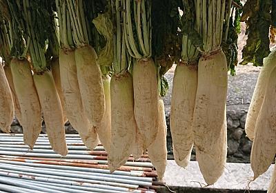 寒い季節になりました「大根を干して並べて」沢庵を漬け込みました。#和食 #大根漬け #香の物