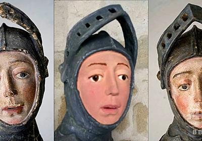 素人の修復で漫画風にされた聖像、再修復でほぼ原状回復 スペイン 写真2枚 国際ニュース:AFPBB News