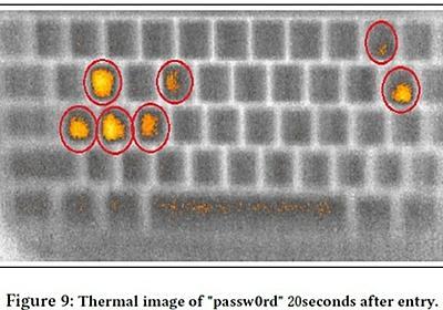 キーボードに残された体温でパスワードを推測する攻撃手法--スパイ映画さながら - CNET Japan