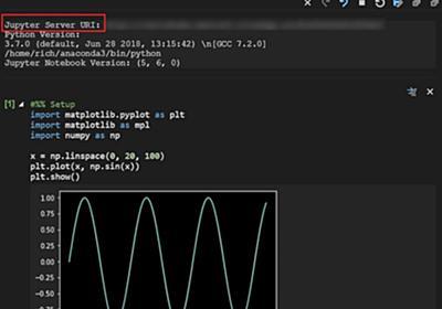 リモートJupyterへの接続も可能になったPython extension for Visual Studio Code – December 2018 Release | マイナビニュース