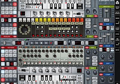 Roland TB-303、TR-808、TR-909をエミュレートしたPropellerhead「ReBirth」が販売中止 | Computer Music Japan