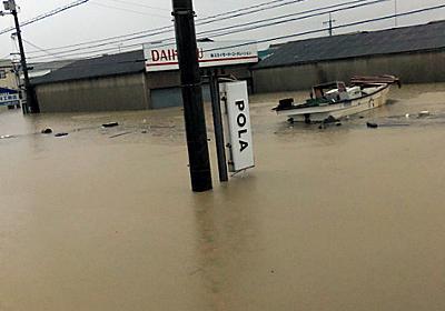スーッと近づいてきた無人の「神様のボート」住民救った:朝日新聞デジタル