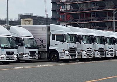 トラック運賃下落 減収ドライバー誘うギグワーク: 日本経済新聞