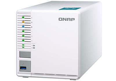 QNAP、M.2スロット×2を装備するホーム向け3ベイNASキット「TS-351」 - INTERNET Watch