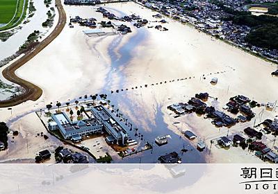 鉄工所の複数の油槽が浸水、油が川の近くへ流出 佐賀:朝日新聞デジタル