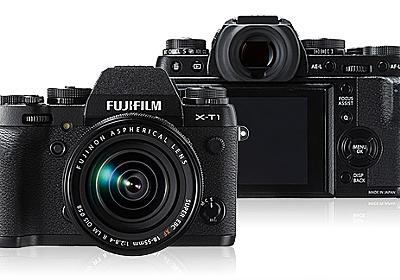 [N] 「FUJIFILM X-T1」防塵防滴のミラーレスカメラ