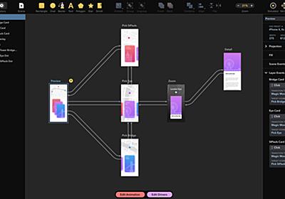 最高のデザインツール「Drama」が登場!SketchやXDより良いかも。 | Web Design Trends
