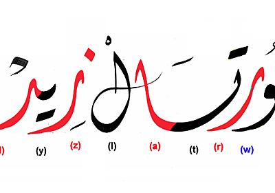 アラビア文字を知識ゼロから学んでみよう :: デイリーポータルZ