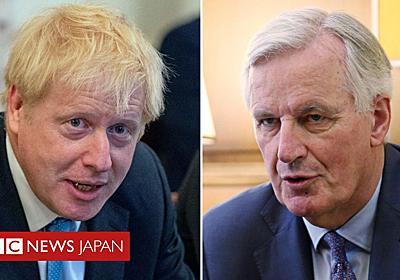 「ジョンソン氏のブレグジット案は受け入れられない」=EU高官 - BBCニュース