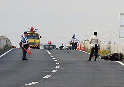 事故:バイク3台転倒、男女6人死亡2人重傷 奈良の国道 - 毎日新聞
