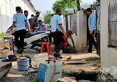 中国人死刑囚、トンネル掘って脱獄 インドネシア 写真1枚 国際ニュース:AFPBB News