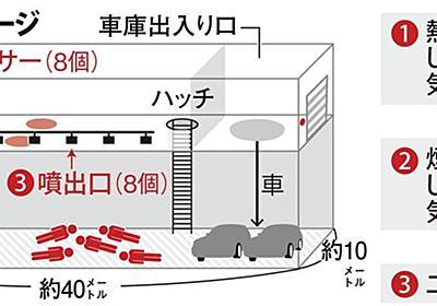 <独自>電気の誤信号で作動か 消火装置4人死亡事故 再現実験で検証へ(1/2ページ) - 産経ニュース