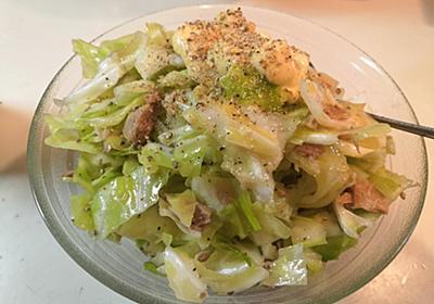 【1食24円】キャベツとツナのMCTオイルサラダの自炊レシピ - 50kgダイエットした港区芝浦IT社長ブログ