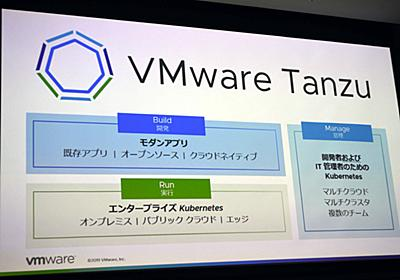 """キーワードは""""ブリッジ""""――、VMwareがKubernetesポートフォリオ「VMware Tanzu」の展開を開始 - クラウド Watch"""