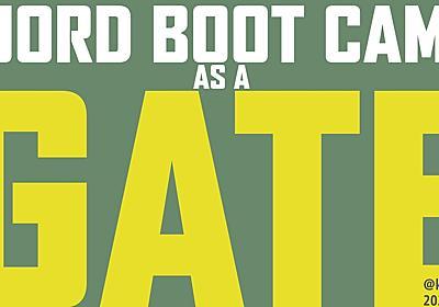 Fjorb Boot Camp as a Gate - Speaker Deck