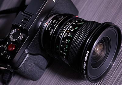 一本は欲しい広角レンズ:Canon NEW FD 20mm F2.8 - Living Happily with Photos.