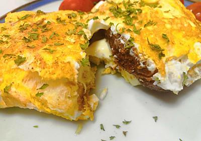 【1食48円】グラスフェッドバターとチーズのオムレツトーストの簡単レシピ - 50kgダイエットした港区芝浦IT社長ブログ