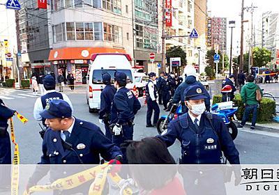 発砲受けた25歳容疑者「職務質問は任意。急いでいた」:朝日新聞デジタル