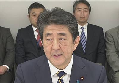首相 大規模なスポーツやイベント 中止か延期など求める考え | NHKニュース