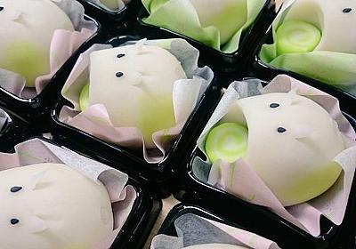 和菓子で作った「食べられる蚊取り豚」がかわいすぎる 夏のお茶受けにぴったり - ねとらぼ