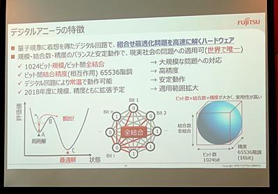 スパコンで8億年かかる計算を1秒で解く富士通の「デジタルアニーラ」 ~量子現象に着想を得て開発した、これまでにないコンピュータ - PC Watch