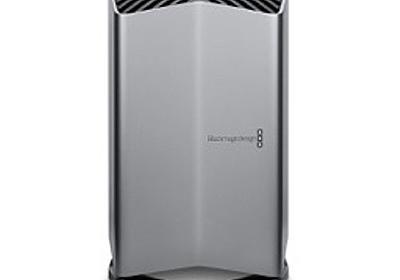 Thunderbolt 2搭載のMac mini (Late 2014)で「Blackmagic eGPU」を使えるようにセットアップする。   AAPL Ch.