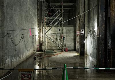 渋谷に眠る「地下要塞」に行ってみた(渋谷区・地下貯留槽)|WIRED.jp