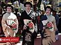 下着ブランド名に「キモノ」、日本文化への侮辱と批判が殺到 米タレント - BBCニュース