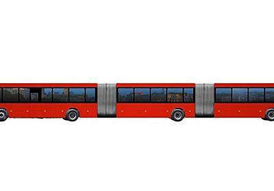 全長30m、収容人数300人:ボルボがつくった「世界最長級のバス」|WIRED.jp