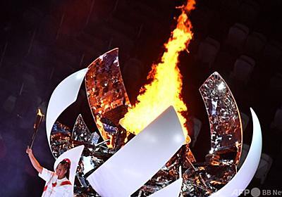 聖火台点火は「最高の栄誉」 大坂なおみが投稿 写真13枚 国際ニュース:AFPBB News