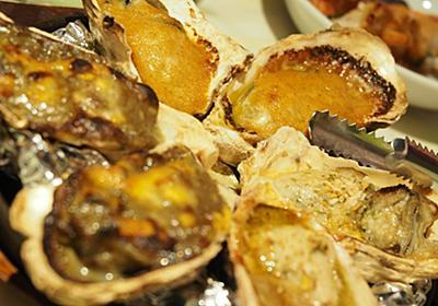 アイラ式牡蠣飲食法、牡蠣のウィスキーびしゃびしゃがけ。ジャックポット新宿。 - 今夜はいやほい