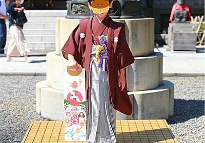 ぼん5歳、日枝神社で七五三 - 大阪人の東京子育て