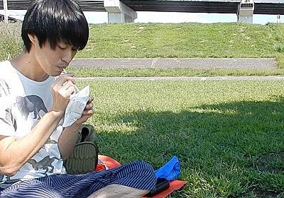 パンパンのパンの袋を吸う秋 :: デイリーポータルZ