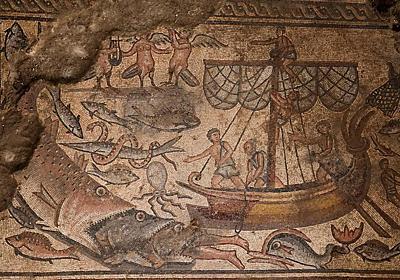 「バベルの塔」など、驚きの古代モザイク画を発掘   ナショナルジオグラフィック日本版サイト
