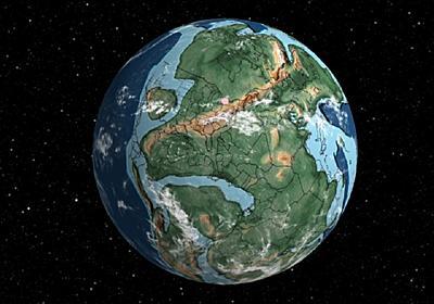 指定した住所が7億5000万年前どこにあったかを示してくれる3Dマップ。大陸ってこんなに分裂・移動してたんだ… | ギズモード・ジャパン