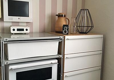 無印良品をカスタマイズした狭いキッチンの収納公開とシンプルな家電選び。 - C'est ma vie. シンプリスト凪