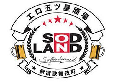痛いニュース(ノ∀`) : 「ソフト・オン・デマンド」が歌舞伎町に大人のテーマパーク「SOD LAND」をオープンへ - ライブドアブログ