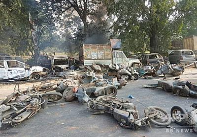 「聖なる」牛の死めぐり400人が暴動、2人死亡 インド 写真4枚 国際ニュース:AFPBB News