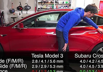 テスラ・モデル3の品質の酷さに米国人もあきれる、日本車との比較でより浮かび上がるモデル3の低品質ぶり(海外の反応)| かいこれ! 海外の反応 コレクション