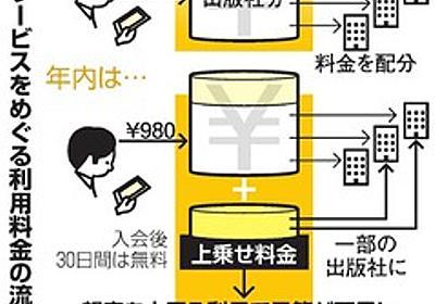 アマゾン読み放題、人気本消える 利用者多すぎが原因?:朝日新聞デジタル