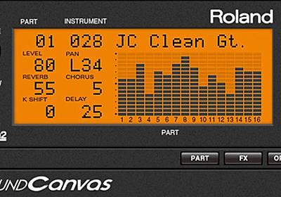 90年代のDTM音源がソフトウェアで復活 ローランド「SOUND Canvas VA」 - ITmedia NEWS