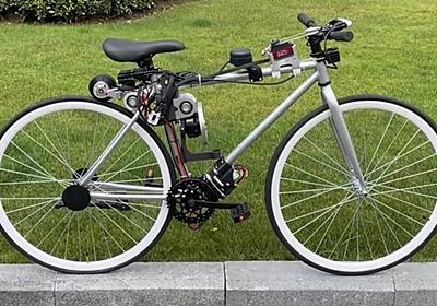 完全無人でスイスイ進む「自動運転自転車」が爆誕、Huaweiのエンジニアが開発 - GIGAZINE